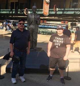 Robert attended Detroit Tigers vs. Tampa Bay Rays - MLB on May 1st 2018 via VetTix