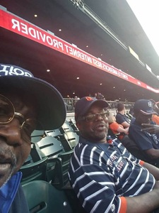 Johnie attended Detroit Tigers vs. Tampa Bay Rays - MLB on May 1st 2018 via VetTix