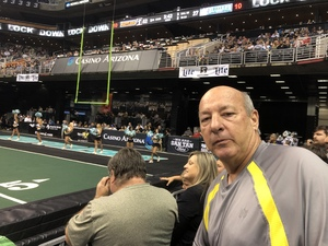 Mitch attended Arizona Rattlers vs. Green Bay Blizzard - IFL on Apr 21st 2018 via VetTix