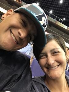 David attended Arizona Rattlers vs. Green Bay Blizzard - IFL on Apr 21st 2018 via VetTix
