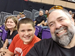 Scott attended Arizona Rattlers vs. Green Bay Blizzard - IFL on Apr 21st 2018 via VetTix