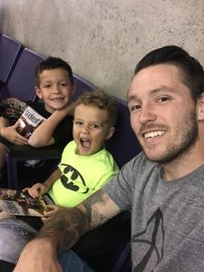 Sean attended Arizona Rattlers vs. Green Bay Blizzard - IFL on Apr 21st 2018 via VetTix