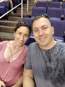 Dana attended Arizona Rattlers vs. Green Bay Blizzard - IFL on Apr 21st 2018 via VetTix