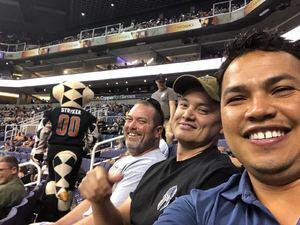 Rodolfo attended Arizona Rattlers vs. Green Bay Blizzard - IFL on Apr 21st 2018 via VetTix