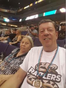 Charles attended Arizona Rattlers vs. Green Bay Blizzard - IFL on Apr 21st 2018 via VetTix