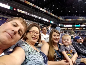 Leonard attended Arizona Rattlers vs. Green Bay Blizzard - IFL on Apr 21st 2018 via VetTix