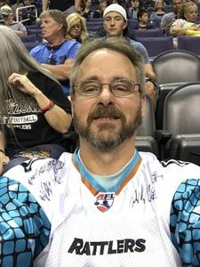 Ken attended Arizona Rattlers vs. Green Bay Blizzard - IFL on Apr 21st 2018 via VetTix