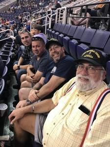 Glenn attended Arizona Rattlers vs. Green Bay Blizzard - IFL on Apr 21st 2018 via VetTix