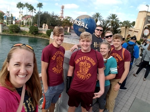Click To Read More Feedback from Harry Potter World After Deployment for family of seven.