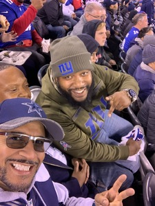 Click To Read More Feedback from Cowboys at Giants Football Game