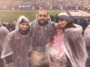 Alan attended New York Giants Game on Oct 20th 2019 via VetTix