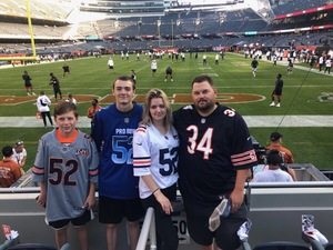 Click To Read More Feedback from Chicago Bears at Soldier Field