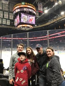 Click To Read More Feedback from Boston Bruins game