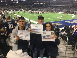 Click To Read More Feedback from Dallas Cowboys Dream